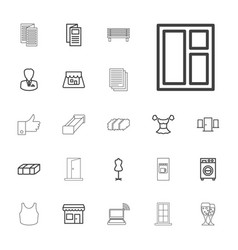 22 front icons vector