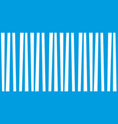 abstract vertical striped pattern marine blue and vector image