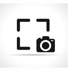 capture symbol icon design vector image