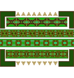 celtic style vector image