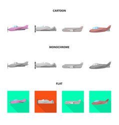 Design travel and airways icon vector