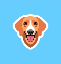 Happy Hound vector