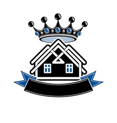 Imperial coat of arms royal house conceptual vector image
