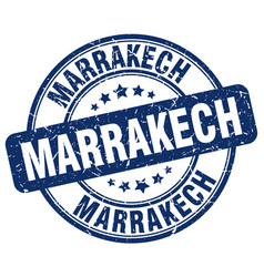 Marrakech stamp vector