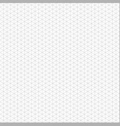 Seamless gray backround of a grid of cubes vector