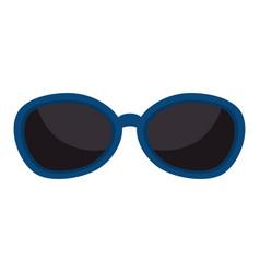 Sunglasses modern style icon vector