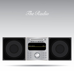 The Radio vector image