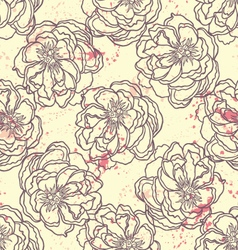 Spring Rampage seamless pattern vector image vector image