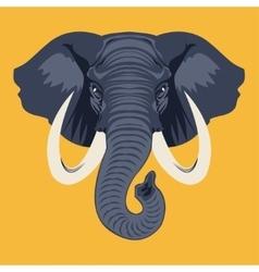 elephante vector image