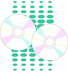 cd drive vector image