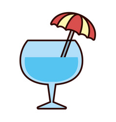 cocktail drink liquor vector image