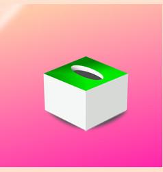green box vector image