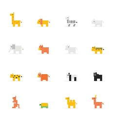 Icon Pixel animal vector