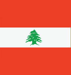 lebanon flag for independence day and infographic vector image