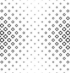 Monochrome square pattern vector image