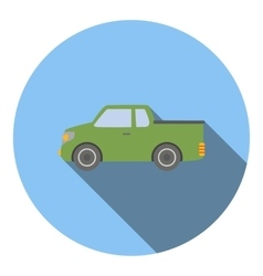 Pickup icon flat style vector