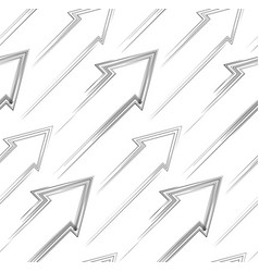 seamless pattern dashed diagonal arrows to the vector image