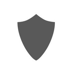 security assurance icon guard shield plain line vector image