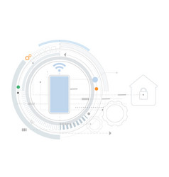 Smart home technology controlling protection vector