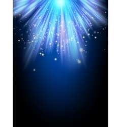Bright night background EPS 10 vector image vector image
