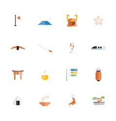 Icon japan vector