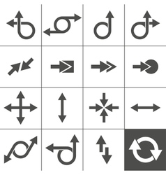 Arrow Sign Set vector image vector image