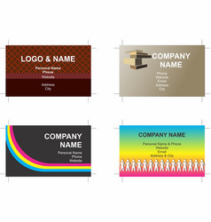 Business cards 5 vector