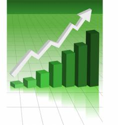 business graph vector image vector image