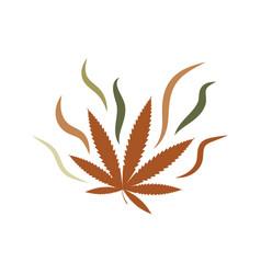 Cannabis marijuana sign symbol vector