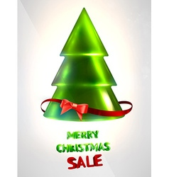 Christmas tree design vector