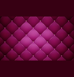 Purple leather banner vector