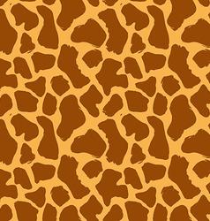Animal skin hand drawn texture seamless pattern vector image
