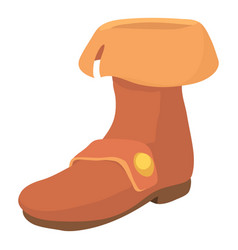 footwear icon cartoon style vector image