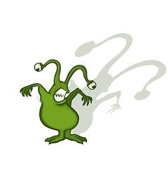 Monster Cartoon Character vector image vector image