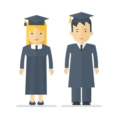 profession young students vector image