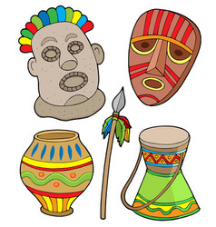 African tribal collection vector