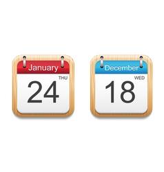 Calendar 2013 icon vector