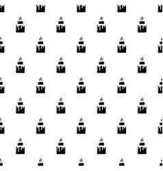 Empanadas pattern seamless vector