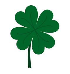 Four leaf clover icon isolated vector