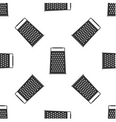 grater icon seamless pattern kitchen symbol vector image
