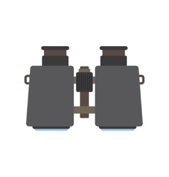 icon of binoculars vector image