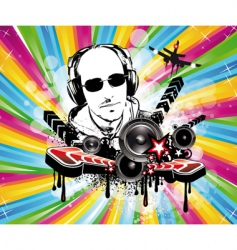 musical event fly vector image