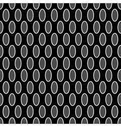 Oval geometric seamless pattern 6310 vector image