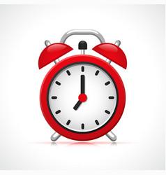 retro clock design concept vector image