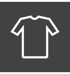 Shirt Cloths vector image