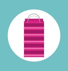 shopping bag design vector image