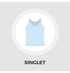 Singlet icon flat vector image