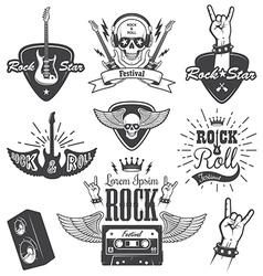 Rock 2 vector image vector image