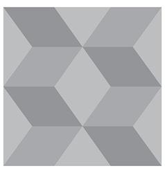 3d square block pattern vector