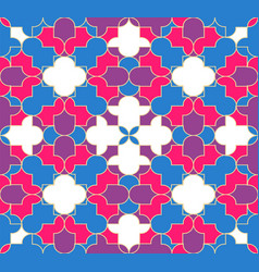 abstract muslim seamless pattern background vector image
